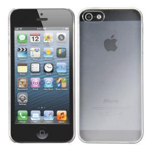 Kwmobile 12268 - Etui transparent ultra fin très chic pour Apple iPhone 5 et 5s