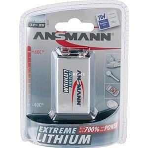 Ansmann Blister de 1 pile lithium 9V