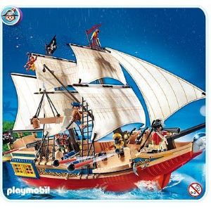 Playmobil 4290 - Grand bateau camouflage des Pirates