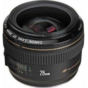 Canon 2510A010 - Objectif grand angle - 28 mm - f/1.8 USM