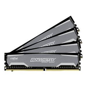 Crucial BLS4C4G4D240FSA - Barrette mémoire Ballistix Sport DDR4 4 x 4 Go PC19200 CAS16 288 pins