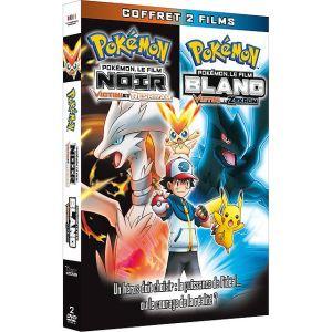 Coffret Pokémon le Film Noir + Pokémon le Film Blanc