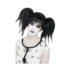 Perruque poupée zombie