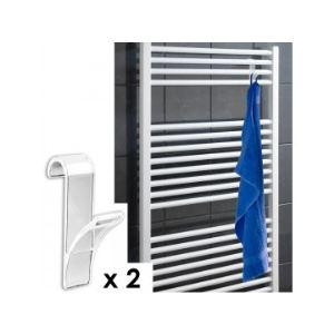 Crochets pour porte comparer 2026 offres for Porte serviette pour radiateur
