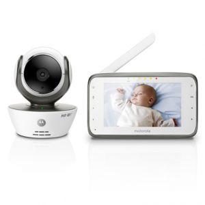 Motorola MBP854 - Écoute-bébé vidéo Connect avec écran LCD