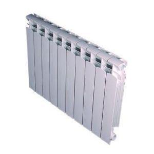 Decoral Royal 70 - Radiateur 4 éléments décor en aluminium 532 Watts