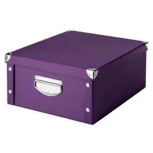 boite rangement carton avec couvercle comparer 87 offres. Black Bedroom Furniture Sets. Home Design Ideas