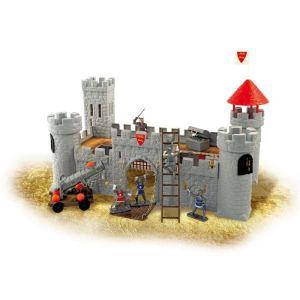 Norev Château permanent avec personnages et accessoires