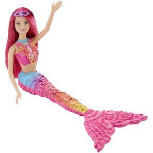 Mattel Barbie Sirène arc en ciel