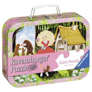 Ravensburger Boucle d'or valise en métal - Puzzle 60 pièces