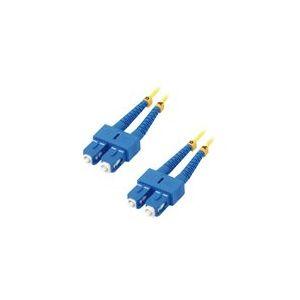 MCL Samar FJOS2/SCSC-2M - Jarretière optique OS2 duplex monomode 9/125 - SC / SC 2m
