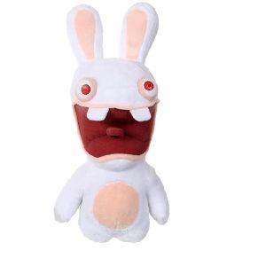 Gipsy Peluche sonore Lapins Crétins 28 cm