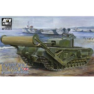 AFV Club AF35285 - Char Churchill TLC Type A avec Carpet Laying Devices 1944 - Maquette échelle 1:35
