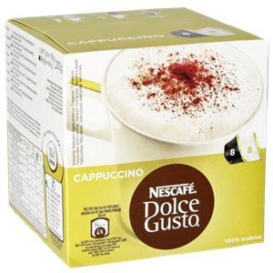 Nescafe 2 x 8 capsules Dolce Gusto Cappuccino