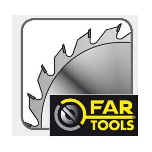 Far Tools 113969 - Lame de scie circulaire 60 dents 254 x 25,4 x 2,6 mm