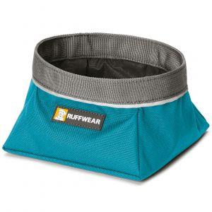 Ruffwear Gamelle de voyage pour chien Quencher bleu - Sac 0,75 l