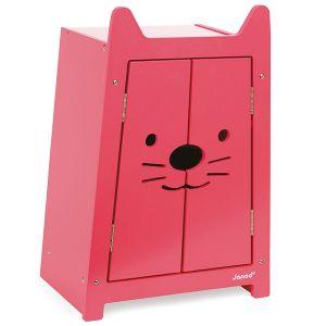 Janod Babycat - Armoire pour vêtements de poupées 36 cm