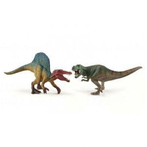 Schleich Figurine petits Spinosaure et Tyrannosaure Rex