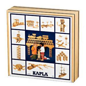 Kapla Coffret 100 planchettes bois naturel