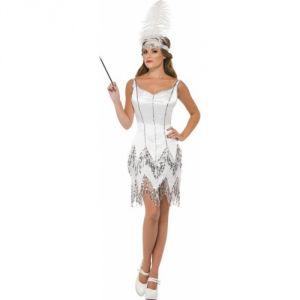 Déguisement charleston robe blanche