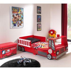 Someo Lit enfant Camion de Pompier (70 x 140 cm)