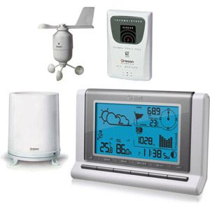 Station m t o oregon scientific comparer les prix et acheter for Station meteo temperature interieure et exterieure