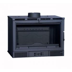 Ferlux 850 - Insert de cheminée grande capacité en fonte 12,6 kw