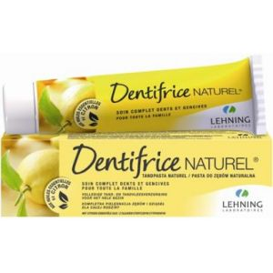 Lehning Dentifrice naturel, soin complet dents & gencives