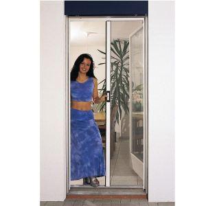 provence outillage porte moustiquaire en alu enrouleur automatique 160 x 250 cm. Black Bedroom Furniture Sets. Home Design Ideas