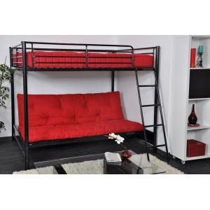 13 offres lit mezzanine banquette clic clac obtenez le meilleur prix avec touslesprix. Black Bedroom Furniture Sets. Home Design Ideas