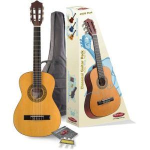 Stagg Pack C505 - Guitare classique 3/4  pour enfant avec accessoires
