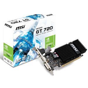 MSI N720-2GD3HLP - Carte graphique GeForce GT 720 2 Go DDR3 PCI-E 2.0