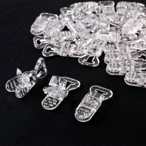 30 pinces à sucette bretelle avec attache clip plastique