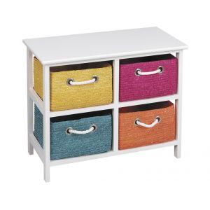 meuble avec paniers salle de bain comparer 88 offres. Black Bedroom Furniture Sets. Home Design Ideas