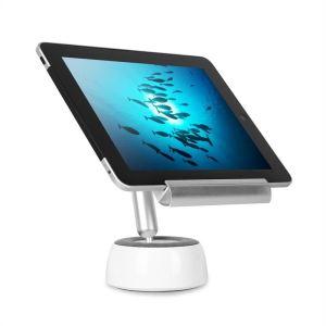 OneConcept Shinepad - Lampe bluetooth de bureau avec enceinte intégrée et porte tablette