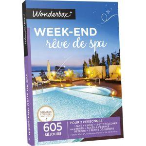wonderbox week end r ve de spa coffret cadeau comparer avec. Black Bedroom Furniture Sets. Home Design Ideas