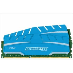 Crucial BLS2C4G3D18ADS3J - Barrettes mémoire Ballistix Sport XT 8 Go (2x 4 Go) DDR3 1866 MT/S DIMM 240 broches