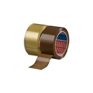 Tesa 04195-00001-02 - Ruban adhésif d'emballage 4195, en PP marron, 50mm x 66 m