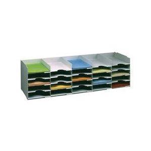 Paperflow 25 cases fixes bloc classeur superposable (A4)