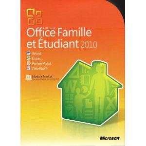 Logiciel microsoft office 2010 comparer 23 offres - Office famille et etudiant 2010 gratuit ...