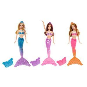 Mattel Barbie sirène coiffeuse