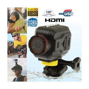 Yonis Y-cse4 - Mini caméra sportive Full HD waterproof grand angle étanche HDMI