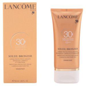 Lancôme Soleil Bronzer SPF30 - Crème protectrice lissante bronzage lumineux et homogène
