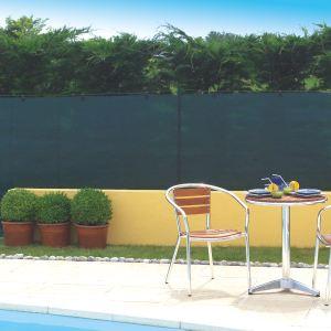 Intermas Gardening 174075 - Natte brise vue tissée Totaltex occultant à 95 % 10 x 1,5 m