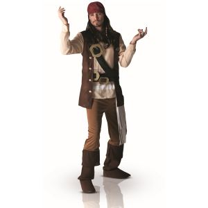 Déguisement Jack Sparrow Pirates des Caraïbes (taille XL)