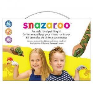 Snazaroo 20005 - Kit de maquillage pour les mains modèle animaux