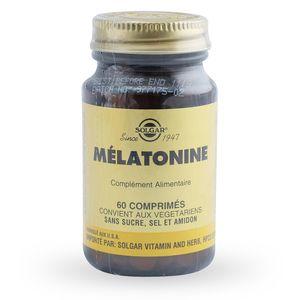 Solgar Mélatonine 1 mg - 60 comprimés
