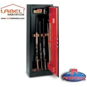 TECHNOMAX HS/600 SC - Armoire à fusils à clé rangement 11 fusils