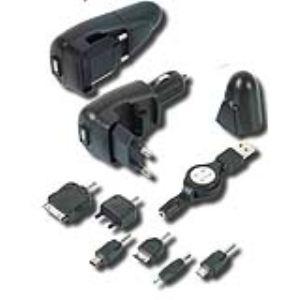 Ribitech PRCT3/1 - Chargeur de téléphone 3-en-1