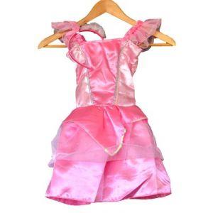 LGRI Déguisement robe féérique rose